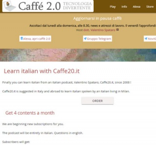 Learn italian from an italian podcaster